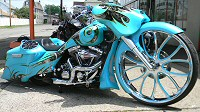 30 Inch Bagger Motorcycle Build Bates Bagger By Iron Hawg Custom Cycles Pennsylvania