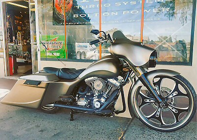 Custom Bagger Builders Pennsylvania Iron Hawg, Bernies Bagger
