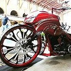 30 Wheel Bagger Motorcycle Build Rick's 30 By Iron Hawg CC PA.
