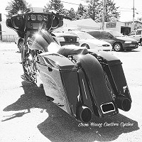 Custom Bagger Motorcycles By Iron Hawg Custom Cycles Inc. Hazleton, PA.