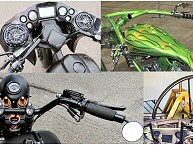 Custom Motorcycle Handlebars Fabrication Pennsylvania