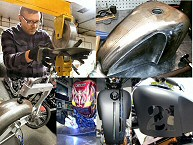 Custom Motorcycle Tanks & Fenders Fabrication Pennsylvania