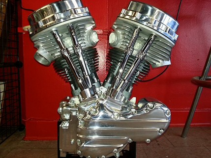 Harley Panhead Engine Rebuilding Pennsylvania By Iron Hawg Custom Cycles Inc.