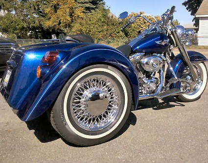 Trike Conversion Company, Custom Trike Motorcycle Builders - Harley Trikes - Trike Kits - Trike Conversions - Builds - Fabrication - Modification - Parts - Service