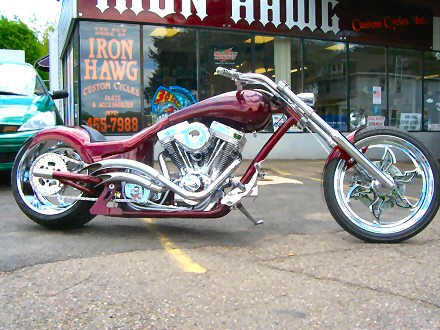 Custom Choppers and Long Bikes For Sale PA., Harleys, S&S Motors, Customs, Built To Spec