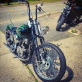 Harley Panhead Restoration 1956 Panhead by Iron Hawg Custom Cycles Inc,